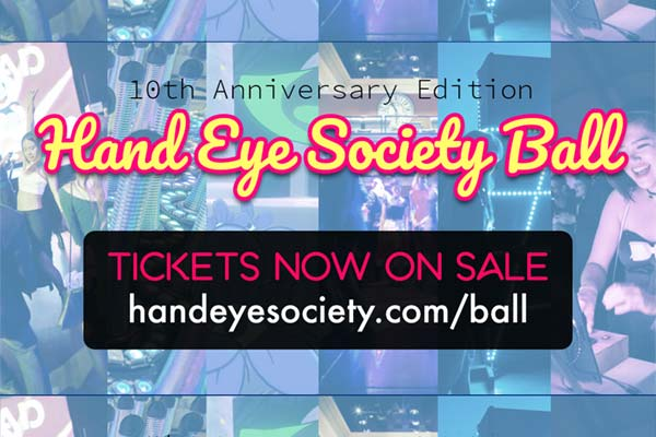 Handeye Fancy Videogame Ball