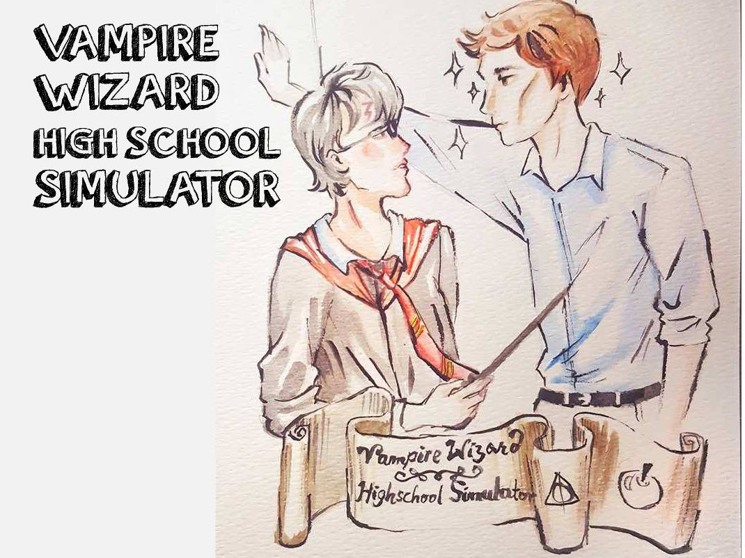 Hypergame Storytime: Vampire Wizard High School Simulator at Electric Perfume