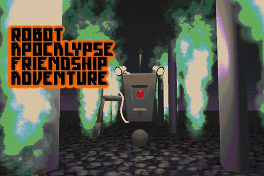 Hypergame Storytime: Robot Apocalypse Friendship Adventure at Electric Perfume