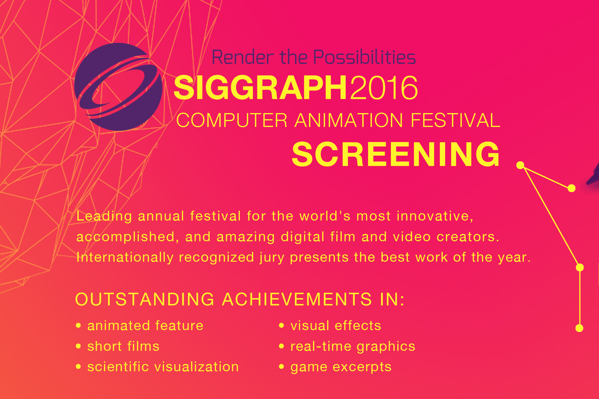 ACM Siggraph Travelling Electronic Theatre